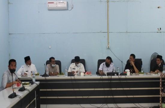 Pemotongan Hewan Qurban dan Santunan Anak Yatim dilingkungan DPMPTSP Kabupaten Kampar